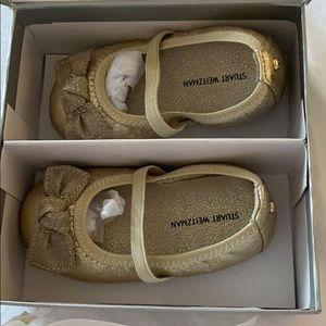 Never been wore Stuart weitzman baby shoes